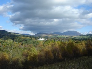 Blair Castle from A9 300x225 A Tour of Jacobite Scotland