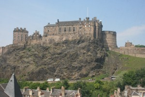 Edinburgh Castle from south 300x200 A Tour of Jacobite Scotland