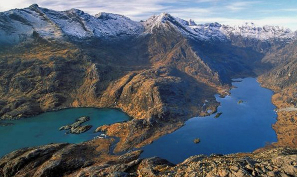 Loch Coruisk, Cuillin mountains