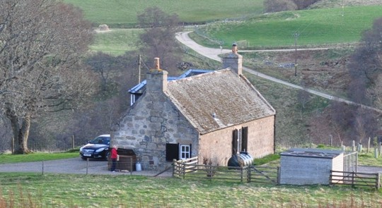holiday cottage in scotland